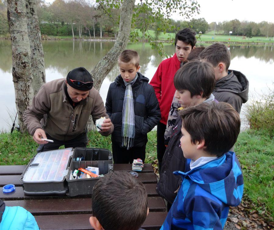 La pêche enseignée aux plus jeunes à l'école de pêche de bourgbarré